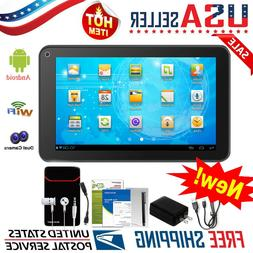 "7"" Inch Tablet PC Android Quad Core 16GB/8GB HD WIFI Dual Ca"
