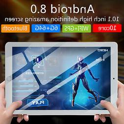 "US 10.1"" 4G+64GB Android 8.0 Octa 10 Core 3G WIFI Phablet PC"