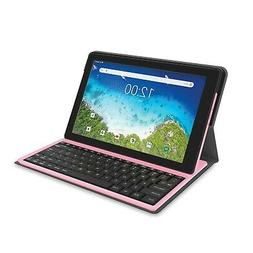 """RCA 10.1"""" Android 8.1 Go Edition 2-In-1 Tablet With Folio"""