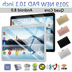10.1 Inches Tablet Quad Core Android8.0 Dual Sim HD Camera I