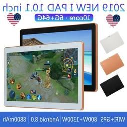 10.1 Inch HD Game Tablet 6G+64GB PC 10 Core Android 8.0 GPS