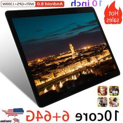 10.1 Inch HD Game Tablet Computer PC Android 8.0 6+64GB Dual