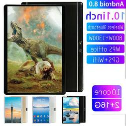 10.1 Inch HD Game Tablet Computer PC Android 8.0 Ten Core GP