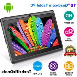 "10"" Inch Tablet PC Android Quad Core 16GB/32GB HD WIFI Dual"