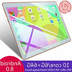 """10.1"""" Tablet PC 8 Core Android 6+64G Dual SIM Camera Wifi Ph"""