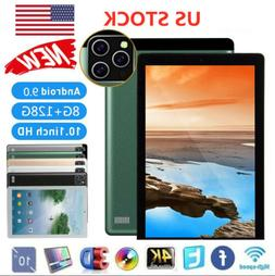 """10.1"""" Tablet PC Android 9.0 Ten-Core 8GB+128GB Dual Camera W"""