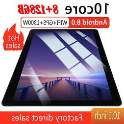 """10.1"""" WIFI/4G-LTE HD PC Tablet Android 8.0 Bluetooth 8+128G"""