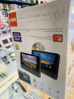 """RCA 10"""" Dual Tablet & DVD Combo Android NEW"""