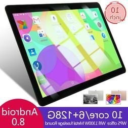 "10"" inch Tablet PC 6+128GB Android 8.0 Dual SIM Dual Camera"