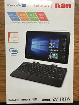 RCA 10 Windows Tablet with Detachable Keyboard W101