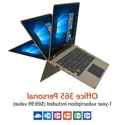 """11.6"""" 2-in-1 Touchscreen Laptop/Tablet Windows 10 Home Offic"""