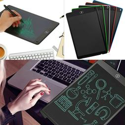 12'' Portable LCD Writing Tablet Electronic Drawing Board No