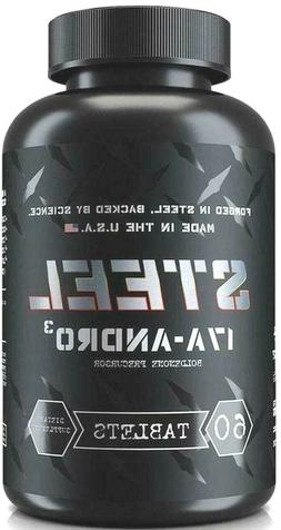 Steel Supplements 17A-Andro, 60 tablets BUILD LEAN MUSCLE