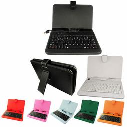 "1pcs 7"" Inch PU Case Keyboard case Random Color for 7"" Table"