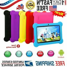 "2018 New 7"" Quad Core Android 4.4Tablet Dual Camera Bundle C"