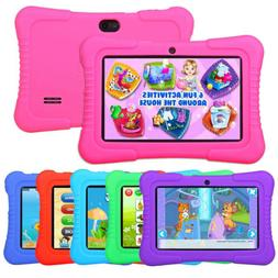 "2019 New version 7"" Google Android Tablet 16GB Bundle Case f"