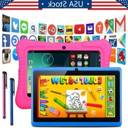 HD Dual Camera 7Inch Kids Tablet PC Quad Core Android 4.4 Wi