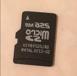256MB 256M Micro SD TF Flash Memory Card For Android Smartph