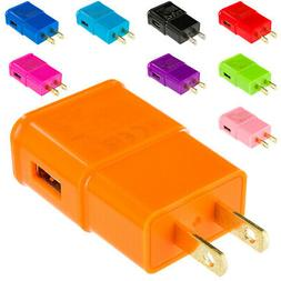 2A Wall Home Travel Charger Adapter for Cell Phones Tablets