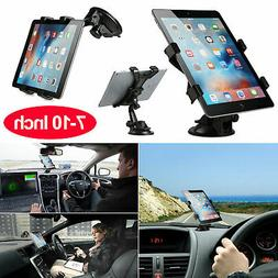 360° Tablet Car Windshield Mount Holder Desk Bracket for 7""