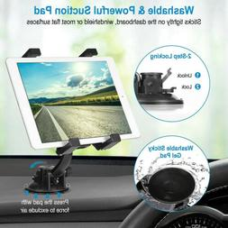 360° Car Windshield & Desk Top Mount Holder For iPad Samsun
