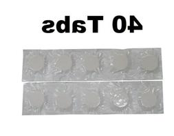 40 Scented Vacuum Bag Tablets for Kirby Hoover Deodorize