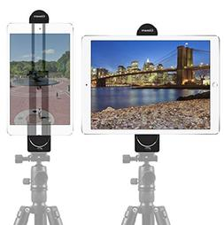"Gimars 5 - 12"" Screen 2 in 1 Phone iPad Tripod Mount Adapt"