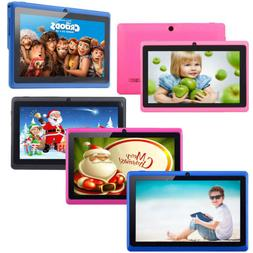 """7"""" 16GB Android 4.4 Quad Core Camera WIFI Tablet For Kids BE"""