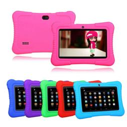 "7"" 16GB Android 4.4 Quad Core Camera WIFI Tablet For Kids Bu"