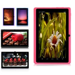 """iRULU 7"""" Android 6.0 Tablet PC A33 Quad Core 8GB Multi Color"""