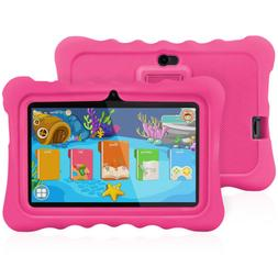 "7"" HD 8GB Android 4.4 Dual Camera 3G WIFI Tablet PC For Kids"