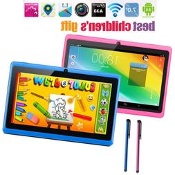 7'' inch Android6.0 Kids Tablet Quad Core HD Dual Camera WiF