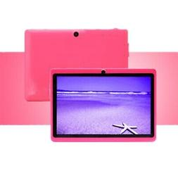 7 Inch Kids Tablet Android Quad Core Dual Camera WiFi Educat