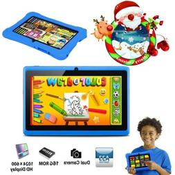 7'' inch Quad Core HD Tablet for Kids Dual Camera WiFi Child