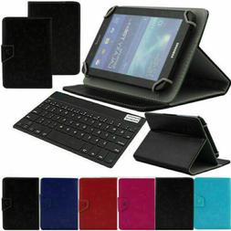 """For 7 Inch Tablet PC Universal 7"""" Leather Stand Case Protect"""