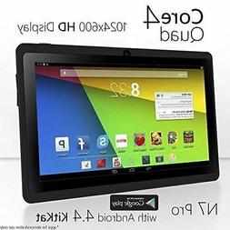 7 quad core wifi tablet pc hd