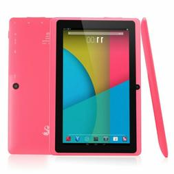 "Dragon Touch Y88X, 7"" Android Tablet, 8 GB, Pink"