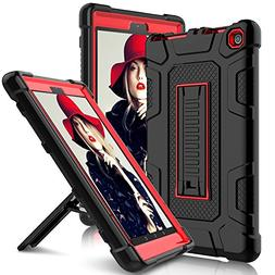Elegant Choise All-New Amazon Fire HD 8 2017 Case with Stand
