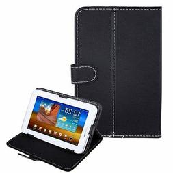 """HDE Universal 7"""" Leather Tablet Case Cover Protective Foldin"""