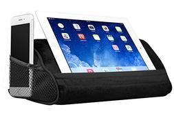 LapGear Travel Tablet Pillow, Tablet Stand - Black