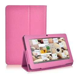 NSSTAR Folio Stand Faux Leather Flip Protection 7-Inch Table