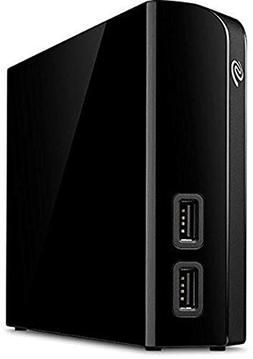 Seagate - Backup Plus Hub 6TB External USB 3.0 Portable Hard