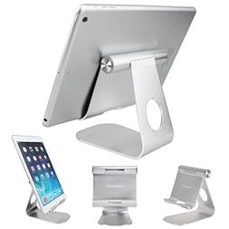 Tablet Stand Holder, iPad Stand Aluminum Desktop Cell Phone