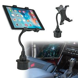 Adjustable Car Cup Holder Mount for Apple iPad Mini Samsung