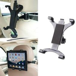 "Adjustable Car Seat Headrest Mount Holder for 7-10"" inch iPa"