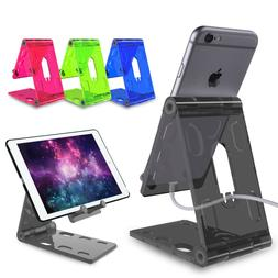 Adjustable Portable Desktop Stand Desk ABS Phone Holder For
