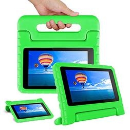 CAM-ULATA Compatible with Amazon Fire 7 2017 2015 Case Kids