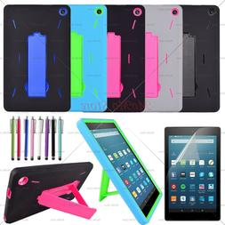 """For Amazon Fire 7 2019 9th Gen 7"""" Tablet Case Three Layer Co"""