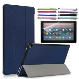 "Case For Amazon fire 7"" / HD 8"" / HD 10"" Tablet Cover with F"