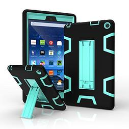 Maomi Amazon Fire 8  Case,,Shock-Absorption/High Impact Resi